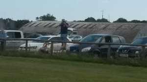 Spotter Getting Spotted